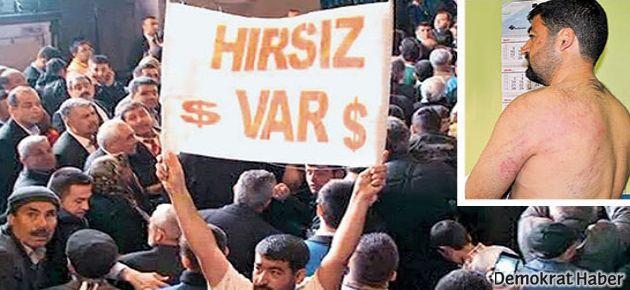 'Hırsız var' pankartı açan AK Parti üyesi çıktı!