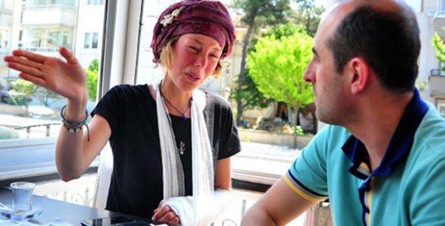 Hollanda'dan Türkiye'ye yürüyerek gelen Garner, Bursa'da tacize uğradı!