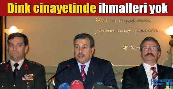 Hrant Dink cinayetinde ihmalleri yok