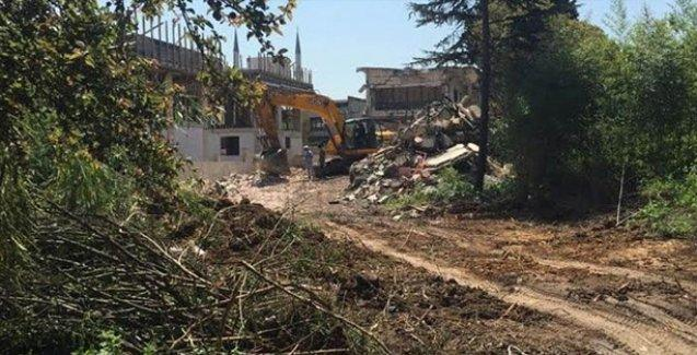 Hrant Dink'in de yuvası olan Ermeni Yetimhanesi Kamp Armen'de yıkım başladı