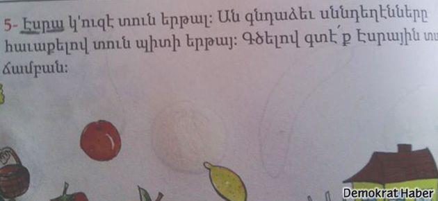 Hrant'ın isteği Ermenice kitaplarında oldu
