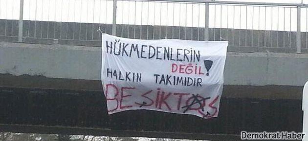 """""""Hükmedenlerin değil halkın takımı Beşiktaş"""""""