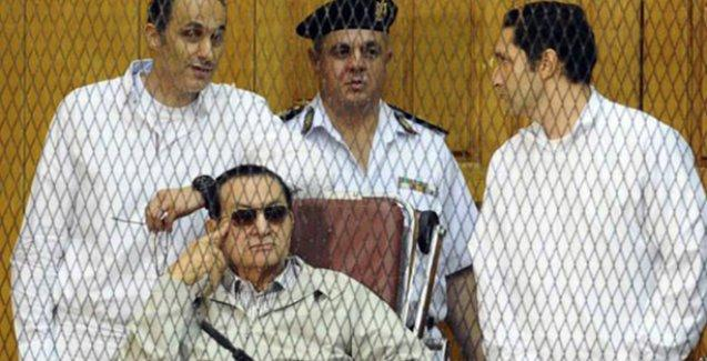 Hüsnü Mübarek'e 3 yıl hapis cezası