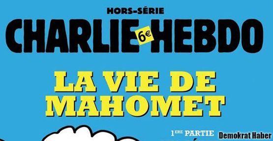 Hz. 'Muhammed'in Hayatı' Fransız mizah dergisinde