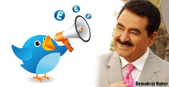 İbrahim Tatlıses'ten barışa tweet!