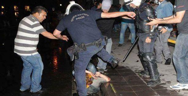 İHD-TİHV: 5 bin 848 kişi polis şiddetine maruz kaldı