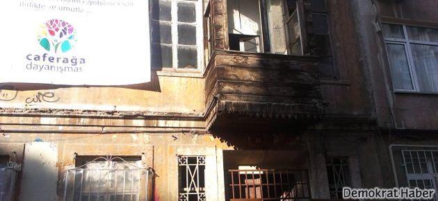 İkinci işgal evi de Caferağa'da kuruluyor