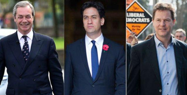 İngiltere'de seçimi kaybeden üç lider de istifa etti