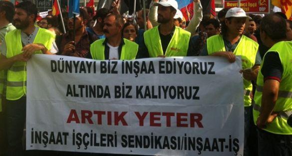 İnşaat İşçileri Sendikası: 'Şantiyelerde 12 bin denetmen açığı var'