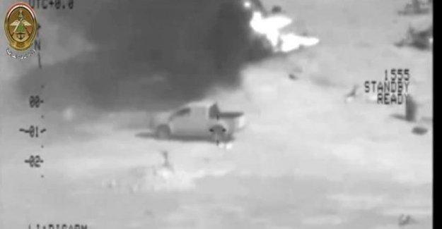 Irak ordusu havadan bombaladı, 70 IŞİD militanını öldürdü