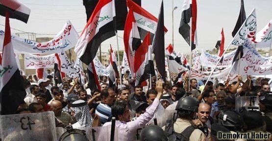 Irak'ta Türkiye karşıtı protestolar devam etti