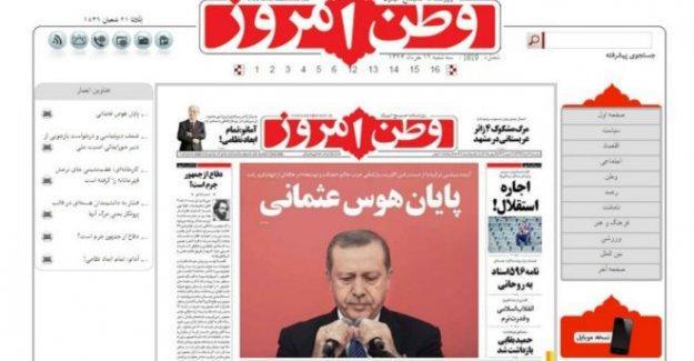 İran basını: İmparator Erdoğan ve cihatçılar kaybetti