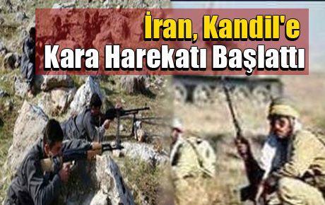 İran, Kandil'e Kara Harekatı Başlattı