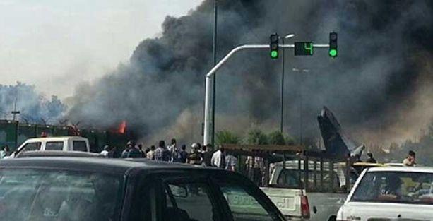 İran'da yolcu uçağı düştü