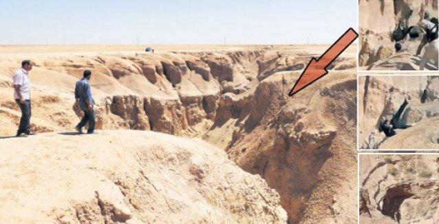 IŞİD'in Tel Abyad'daki 'ölüm çukuru'