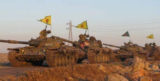 IŞİD, Irak'taki ağır silahlarla Rojava'ya saldırıyor!