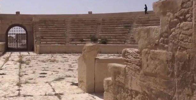 Palmira'da çok sayıda patlamamış mayın bulundu