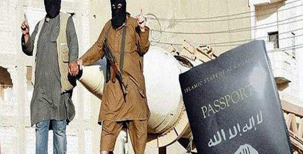 IŞİD, pasaport bastı