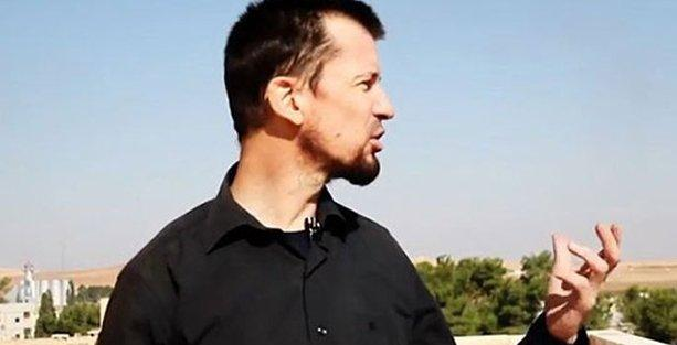 IŞİD rehine tuttuğu gazeteciye Kobani haberi yaptırdı!