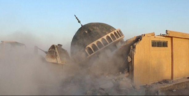IŞİD, Şiilerin camilerini havaya uçurdu