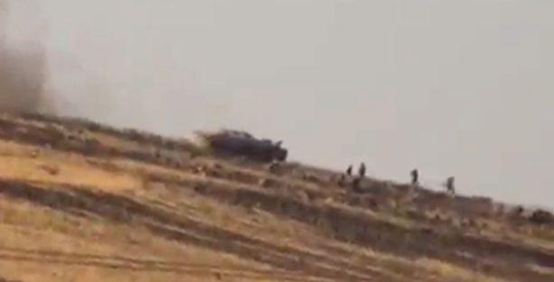 IŞİD Türkiye sınırından Rojava'ya saldırıyor!