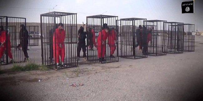 IŞİD tutsak Peşmergelerin görüntülerini yayınladı