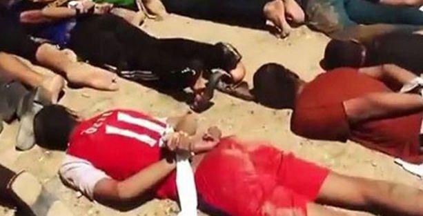 IŞİD yüzlerce kişiyi kamyon kasalarına koyup infaz etti!
