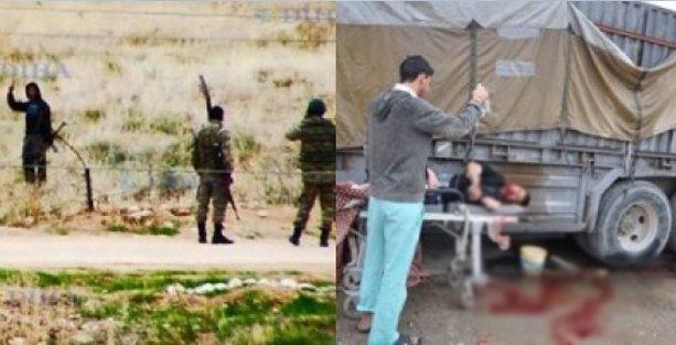 'IŞİD'e eyvallah, Kürt'e infaz'