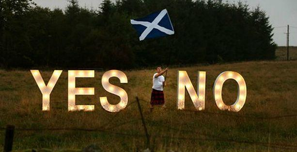 İskoçya bağımsızlık referandumu için sandık başına gitti