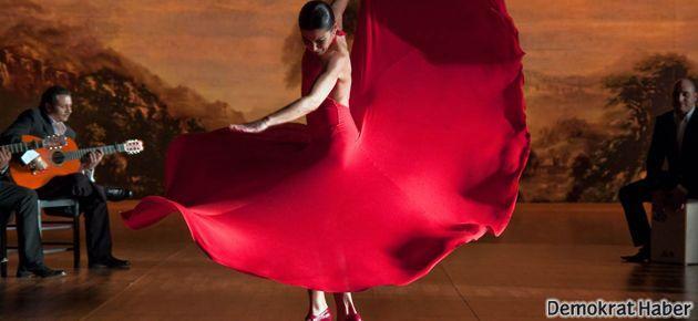 İspanya'da krize flamenkoyla protesto