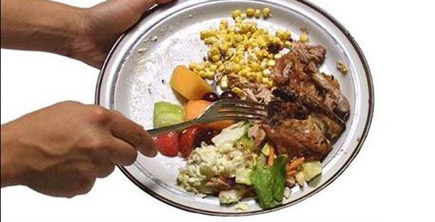 İsraf edilen gıda açları dört kez doyurabilir