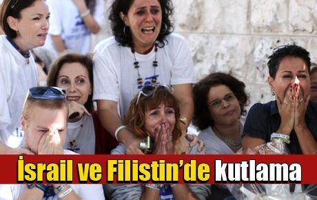 İsrail ve Filistin'de kutlama ve mutluluk