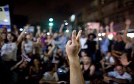 İsrail'de orta sınıf ayaklandı