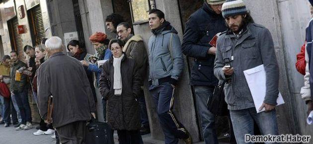 İşsizlik oranı yüzde 10'a dayandı