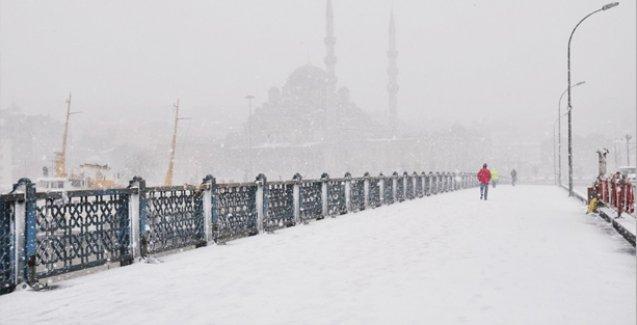 İstanbul'da son 28 yılın en yüksek kar kalınlığı ölçüldü