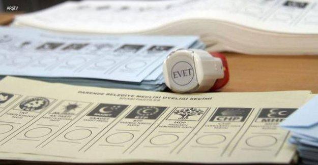İstanbul'daki oy pusulaları karışıklığa yol açtı