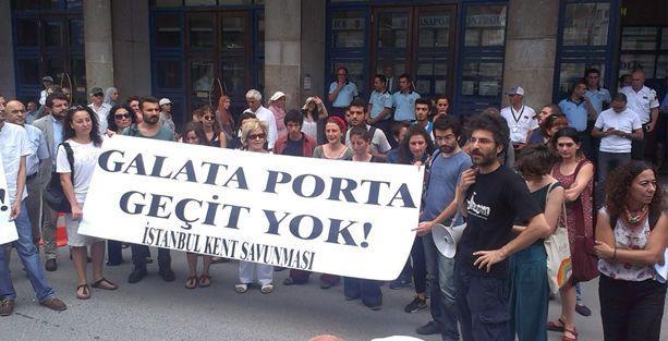 İstanbul Kent Savunması Galataport ÇED toplantısını yaptırmadı