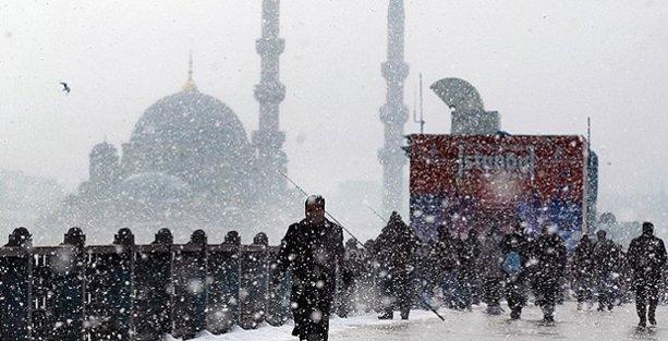 İstanbul'a bu gece için 'buz ve don' uyarısı
