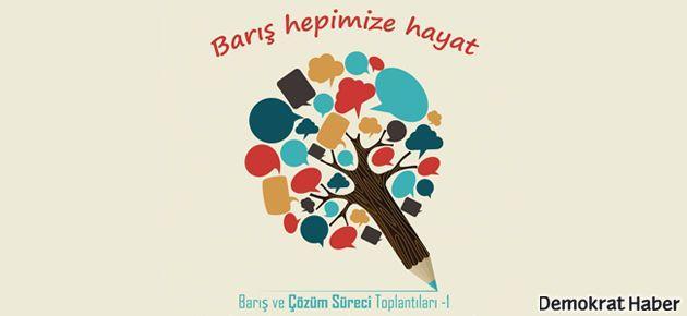 İstanbul'da 'Barış ve Çözüm Süreci Toplantıları'