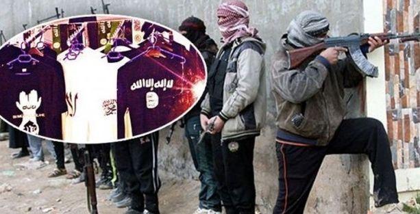 İstanbul'da IŞİD mağazası!