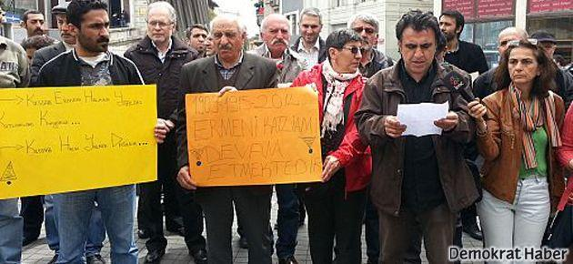 İstanbul'da Kessab protestosu