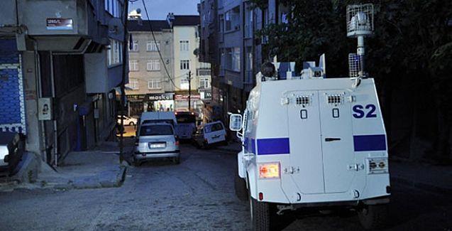 İstanbul'un 8 ilçesinde polis baskını
