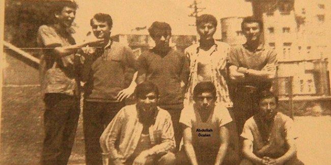 Öcalan'ın ilk kez yayınlanan gençlik fotoğrafları