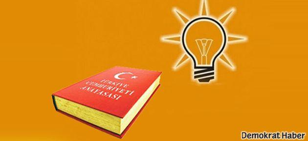 İşte AKP'nin anayasa taslak önerisi