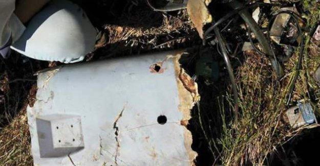 İşte Türkiye'nin düşürdüğü Suriye'ye ait hava aracı