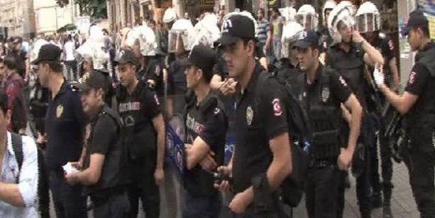 İstiklal Caddesi'nde Lice eylemi: 3 gözaltı
