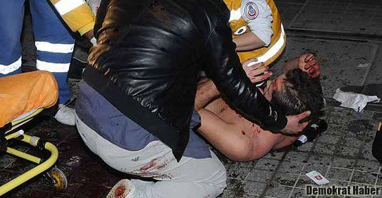 İstiklal'de kadına taciz ve satırlı kavga