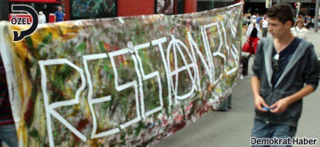 İsviçre'de Gezi Parkı Direnişi'ne destek