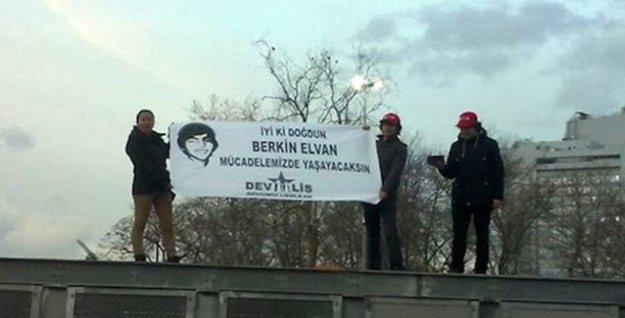 'İyi ki doğdun Berkin Elvan' pankartına 8 yıla kadar hapis istemi