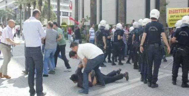 İzmir'de taziye çadırına polis saldırısı: 30 gözaltı